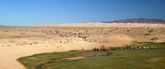 Période de voyage en mongolie