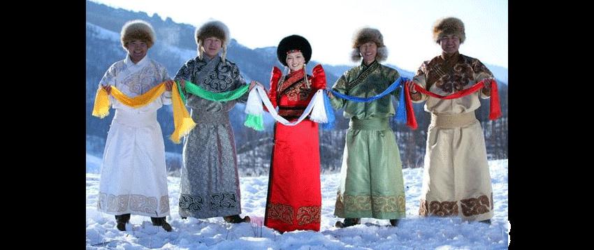 Khadag des mongols
