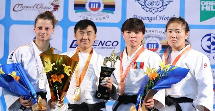 Judo : la Mongolie sur le podium à Bakou (Azerbaïdjan)