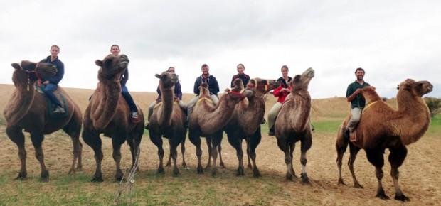 Voyage en mongolie de Philippe et sa famille