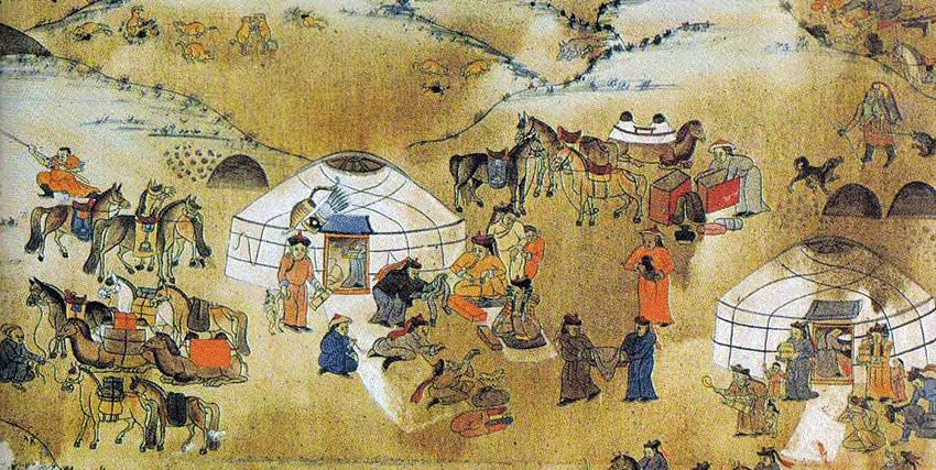 Peinture mongole