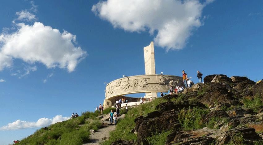 Mémorial de Zaïsan -voyage en mongolie