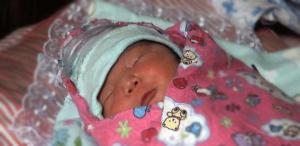 64 bébés du Nouvel An en Mongolie