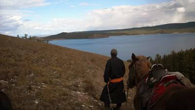 Khuvsgul et Arkhanggai (à cheval et découverte)
