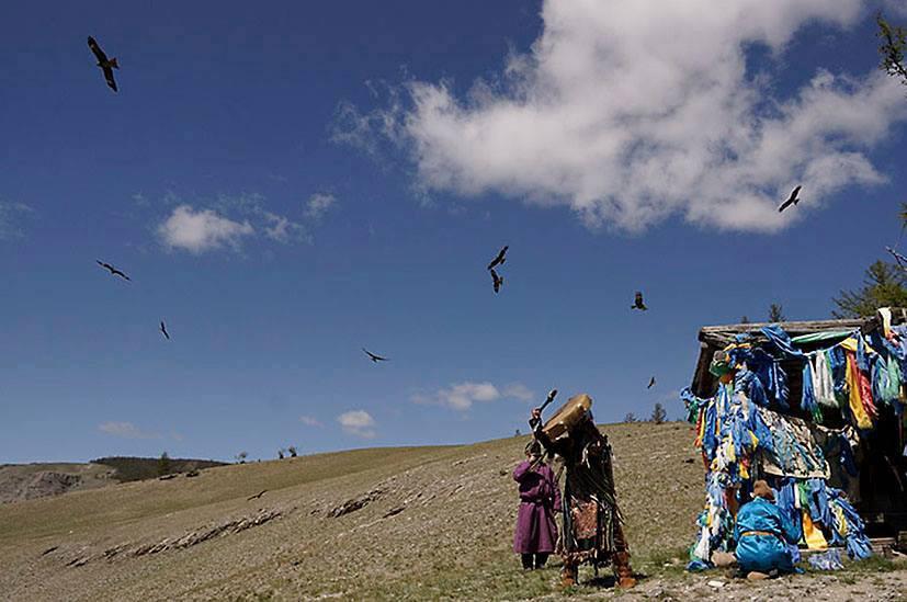 Les esprits du chaman mongol