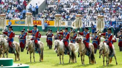 Circuit de la fête «Naadam-2018» en mongolie