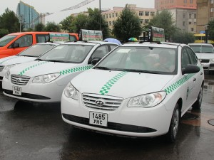 Taxi mongolie